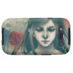 Synthetic Beauty in Blue Samsung Galaxy S3 Cases
