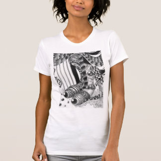 Synthetic Girl Ladies T-shirt
