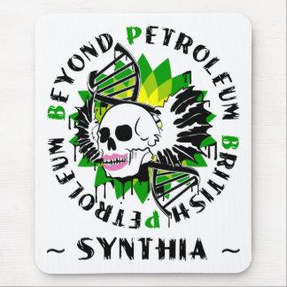 synthia azul de la plaga de British-Petroleum Alfombrilla De Ratón