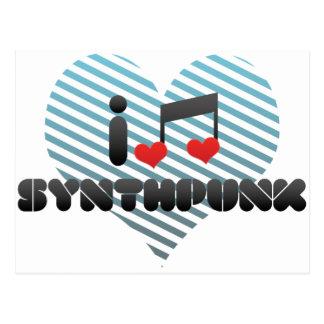Synthpunk Postales