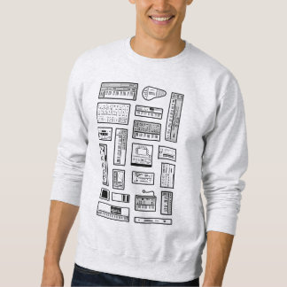 Synths and stuff sweatshirt