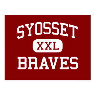 Syosset gifts on zazzle syosset braves high school syosset new york postcard negle Images