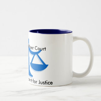 SYPC Logo, Santiam Youth Peer Court, Youth Empo... Two-Tone Coffee Mug