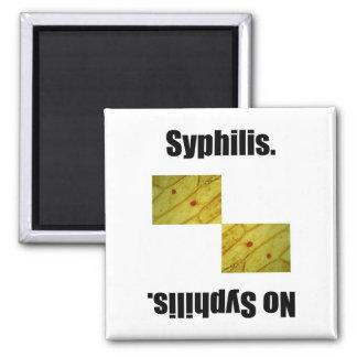 Syphilis. Magnets