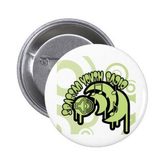 SYR Dripping Green Logo 2 Inch Round Button