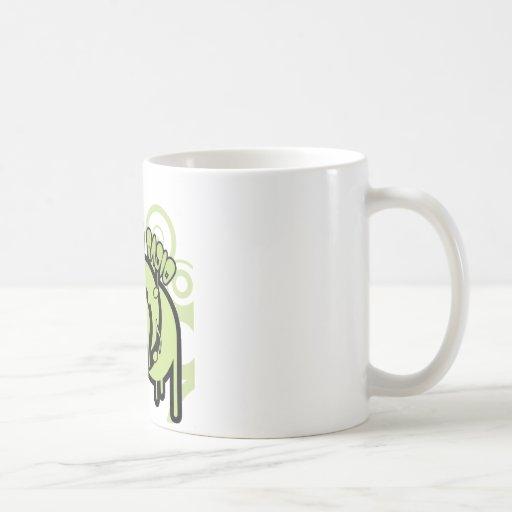 SYR Dripping Green Logo Mugs