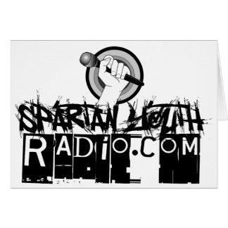 SYR Grunge Logo Greeting Card