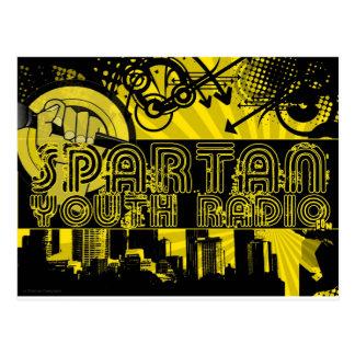 SYR Retro Urban Postcard