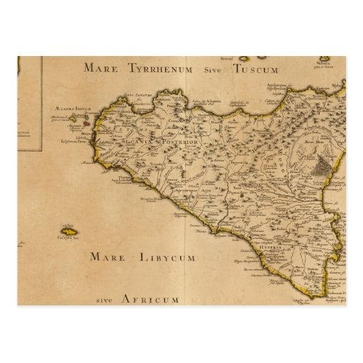 Syracuse and Italy Postcard