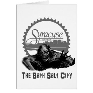 Syracuse - Bath Salt City Card