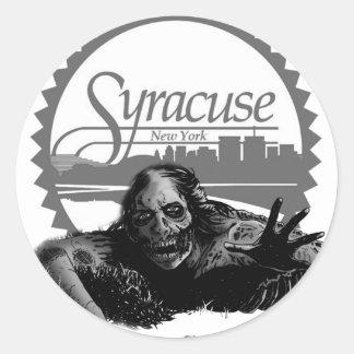 Syracuse - Bath Salt City Classic Round Sticker