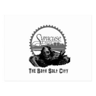 Syracuse - Bath Salt City Postcard