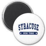 Syracuse New York College Style tee shirts Refrigerator Magnet