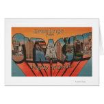 Syracuse, Nueva York - escenas grandes de la letra Tarjeta De Felicitación