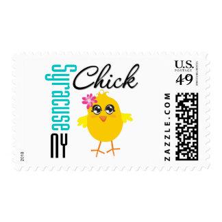 Syracuse NY Chick Postage