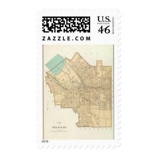 Syracuse Postage Stamp