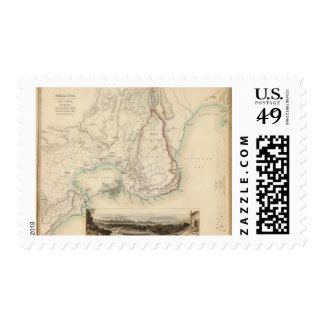 Syracuse & remaining vestiges of its five cities stamp