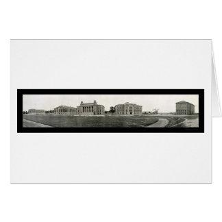 Syracuse University Photo 1908 Card