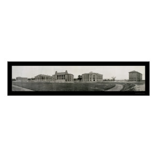 Syracuse University Photo 1908 Poster