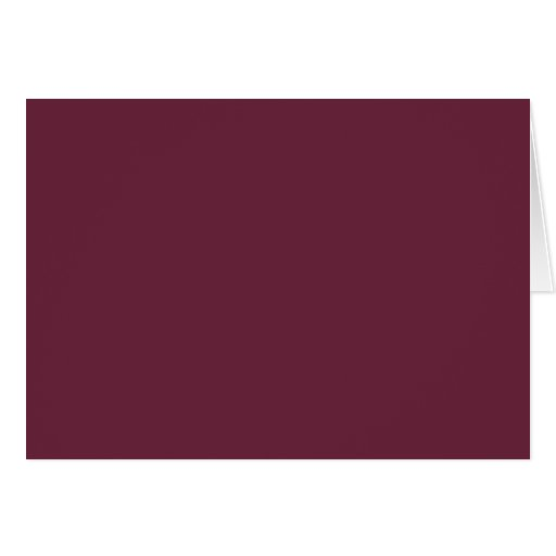 Syrah Wine, Intense Ruby Red. Chic Fashion Color Greeting Cards