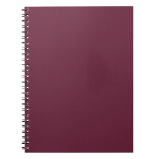 Syrah Wine, Intense Ruby Red. Chic Fashion Color Note Books