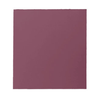 Syrah Wine, Intense Ruby Red. Chic Fashion Color Note Pads