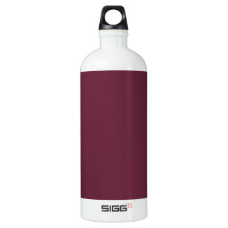 Syrah Wine, Intense Ruby Red. Chic Fashion Color SIGG Traveler 1.0L Water Bottle