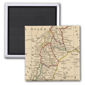 Syria 2 2 inch square magnet