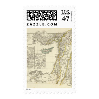 Syria and the neighboring postage
