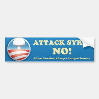 Syria Anti-War Bumper Sticker Car Bumper Sticker