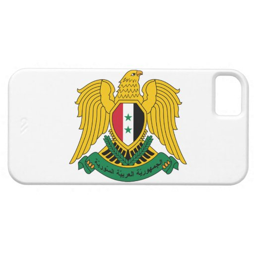 syria coat of arms iPhone 5 case