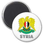 Syria Coat of Arms Magnet