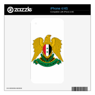 Syria Coat of Arms iPhone 4 Skin