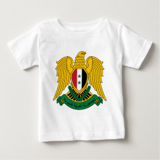 syria coat of arms tee shirt