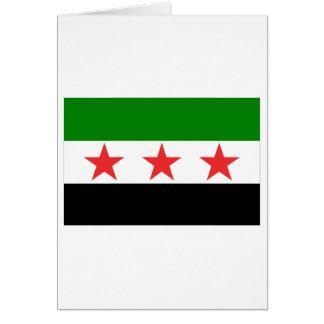 Syria Flag (1932-1958 and 1961-1963) Card
