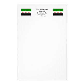Syria Flag (1932-1958 and 1961-1963) Stationery