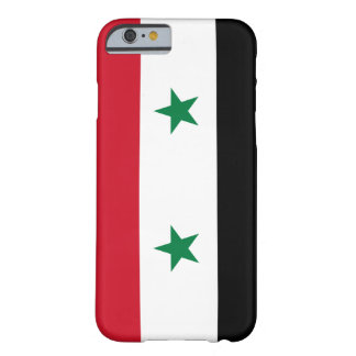 Syria Flag Barely There iPhone 6 Case