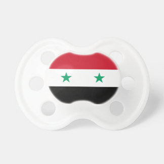 Syria Flag Booginhead Pacifier