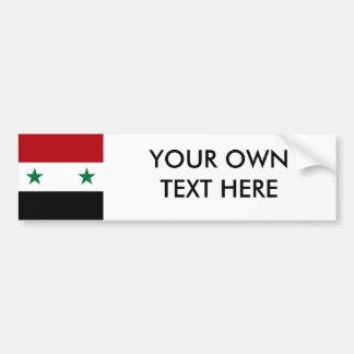 Syria Flag Bumper Sticker