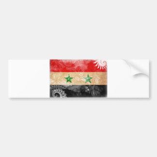 Syria Flag Bumper Stickers
