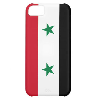 Syria Flag Cover For iPhone 5C