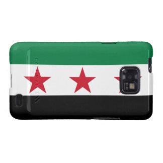 Syria Flag Galaxy SII Cases