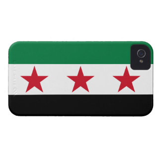 Syria Flag iPhone 4 Cover