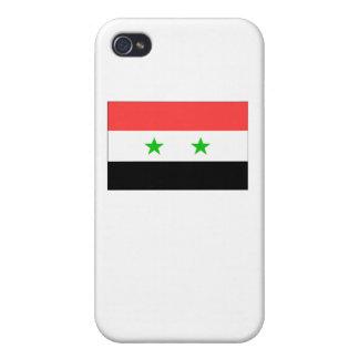 Syria Flag iPhone 4 Cases