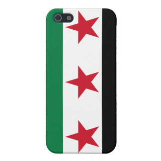 Syria Flag iPhone SE/5/5s Cover