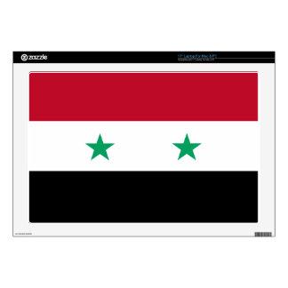 Syria flag laptop skin