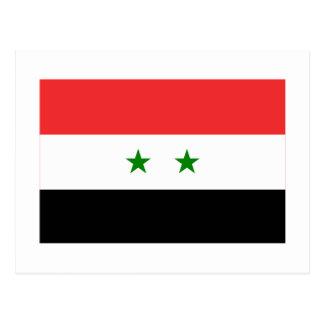 Syria Flag Post Card