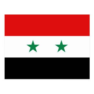 Syria Flag Postcard