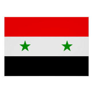 Syria Flag Poster
