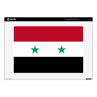 Syria flag skins for laptops